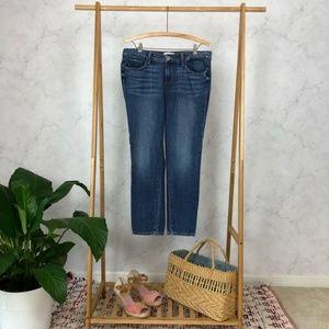Paige Jimmy Jimmy Crop Skinny Light Wash Jeans